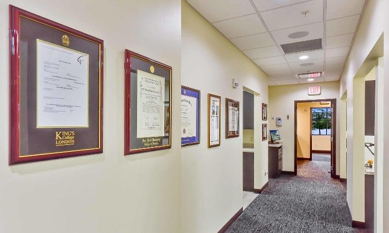Hallway at Medina OH Prosthodontics Office