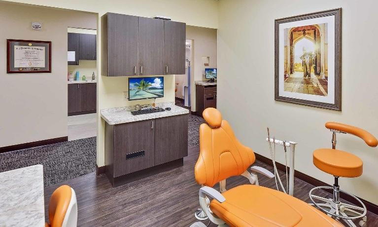 Treatment Room at Medina OH Dental Office